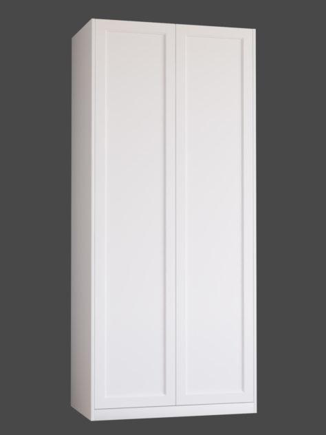 Shaker 3.1 (ühe raamiga Shaker 3) uksed PAX garderoobikappidel.