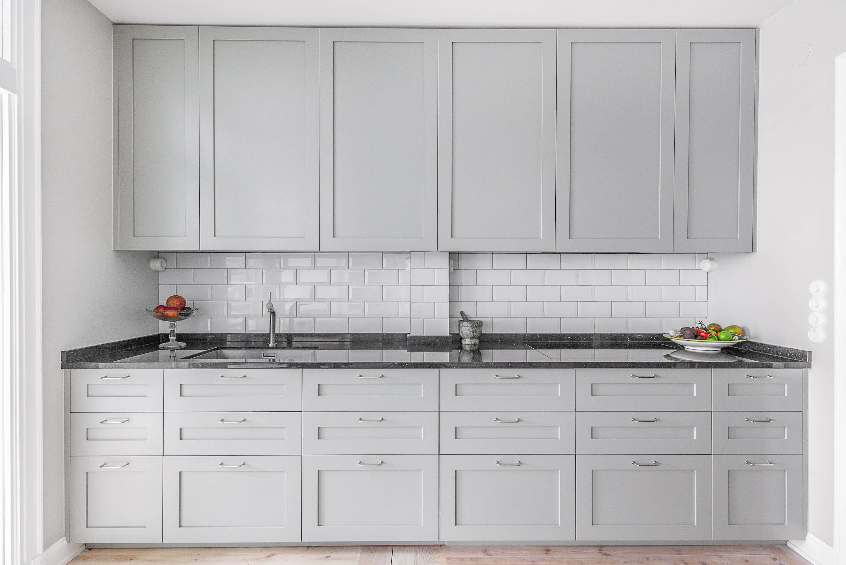 Custom Made Fronts For Ikea Kitchen Cabinet Frames